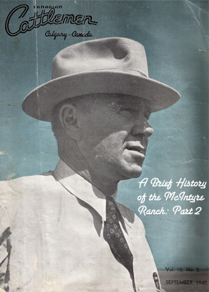 Cover of Canadian Cattlemen, Sept. 1947
