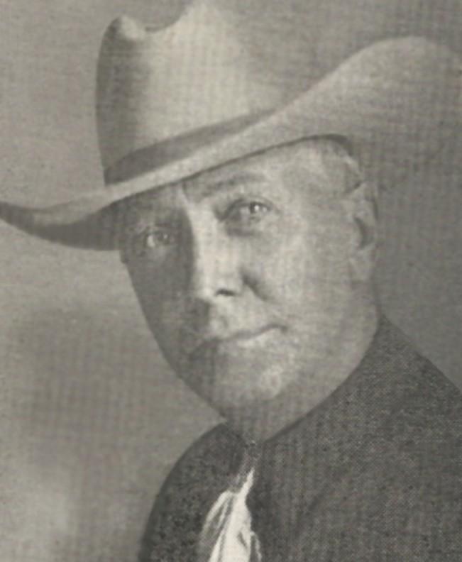 antique photo of a rancher