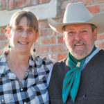 Tina Williams and Richard McConnell have learned that less is more when handling cattle