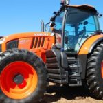 Kubota's new M7 tractor is meant to combine higher engine horsepower and flexibility in performance. (Ralph Pearce photo)