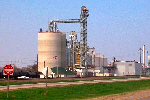 The Andersons' ethanol plant at Denison, Iowa. (AndersonsEthanol.com)