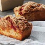 A strawberry rhubarb mini cake at Panera Bread. (PaneraBread.com)