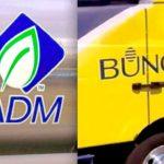 (ADM photo by Dave Bedard, Bunge photo via Bunge)