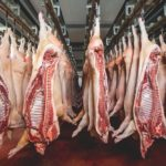Sides of pork in cold storage. (Agnormark/iStock/Getty Images)