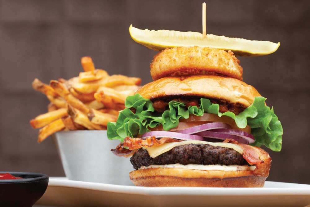 The Chop Burger is the first menu item from a full-service restaurant to receive the Canadian Roundtable for Sustainable Beef (CRSB) Certified Mark. (CNW Group/Chop Steakhouse + Bar)
