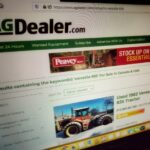 An OFX widget is now available for farmers perusing AgDealer's online listings. (GFM staff photo)