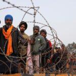 Farmers prepare for a rally against India's newly passed farm laws ahead of Republic Day at Singhu border near New Delhi on Jan. 25, 2021. (Photo: Reyters/Anushree Fadnavis)