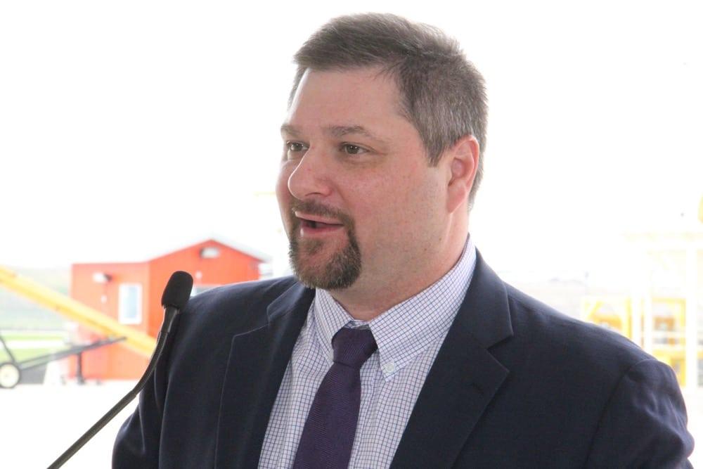 WGEA executive director Wade Sobkowich. (Manitoba Co-operator photo by Allan Dawson)