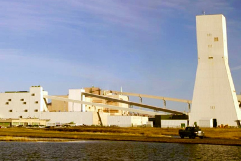 Nutrien's potash mine at Lanigan, Sask., about 100 km southeast of Saskatoon. (Nutrien.com)