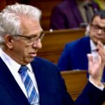Brandon-Souris MP Larry Maguire speaks to Bill C-208 on Nov. 25 in the House of Commons. (Video screengrab from Parl.gc.ca)
